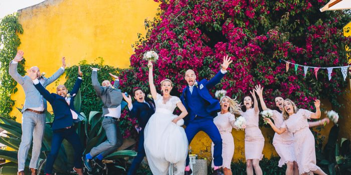 Amy & Graham Vineyard Wedding in Portugal