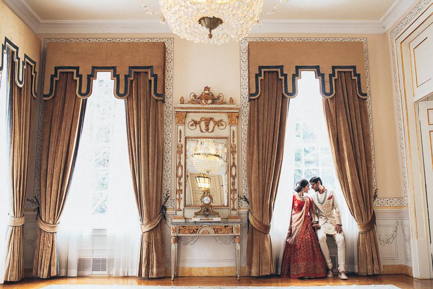 Niyomi & Aditya Hindu Wedding in Seteais Palace, Sintra