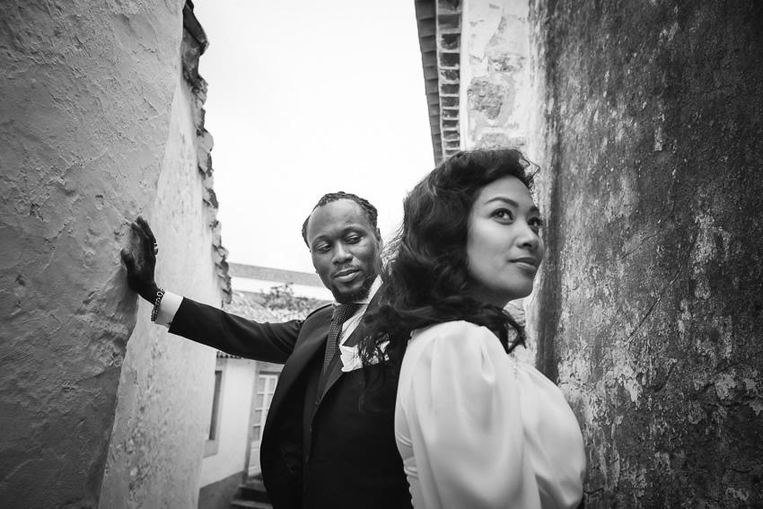 Clarice & Adelino Wedding in Castelo de Óbidos
