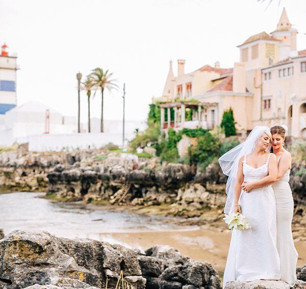 Sara & Marisa Destination Wedding in Cascais