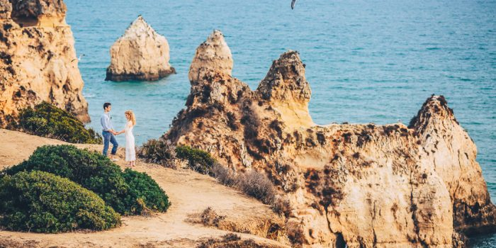 Kerys & Mitko Beach Wedding Destination in Algarve