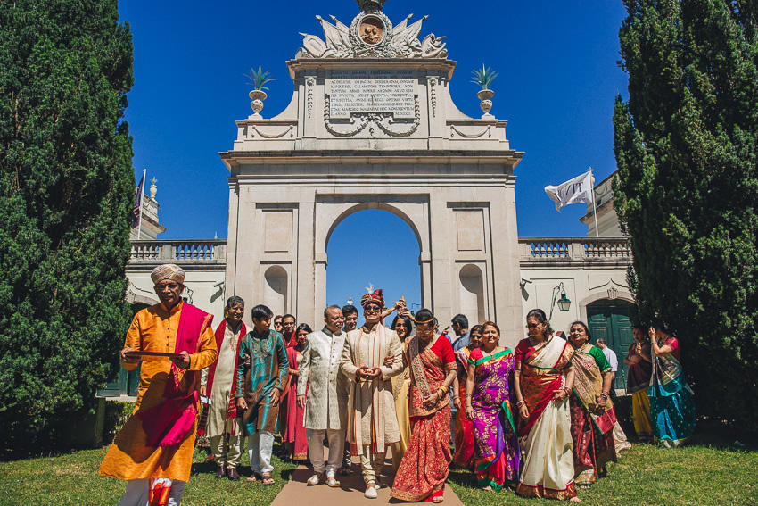 Indian Wedding Photography in Portugal
