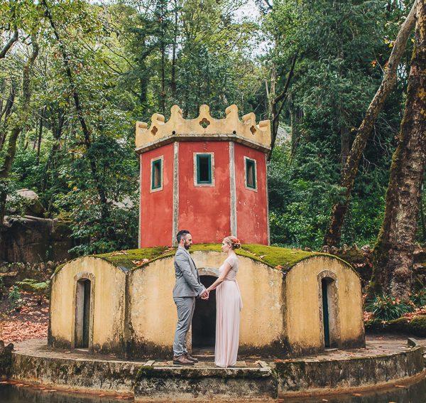 Jamie & Daniel Elopement in Sintra
