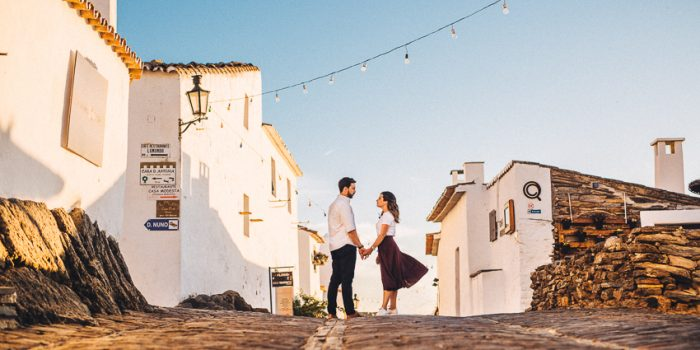 Joana & Pedro Romantic Engagement Session in Alentejo