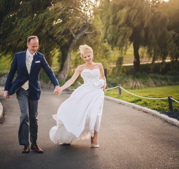 lively destination wedding