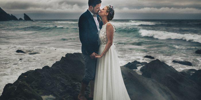 Larissa & Thilo Beach Intimate Wedding Destination in Sintra