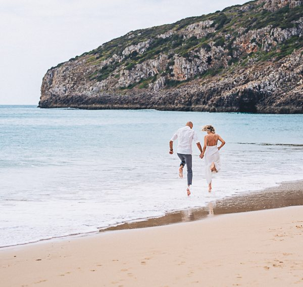 Silke & Frank Beach Elopement