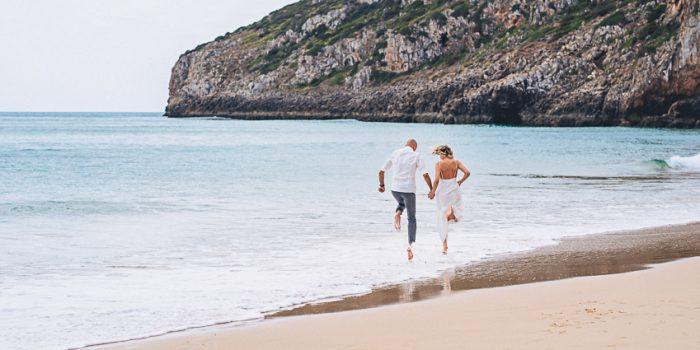 Silke & Frank Beach Elopement