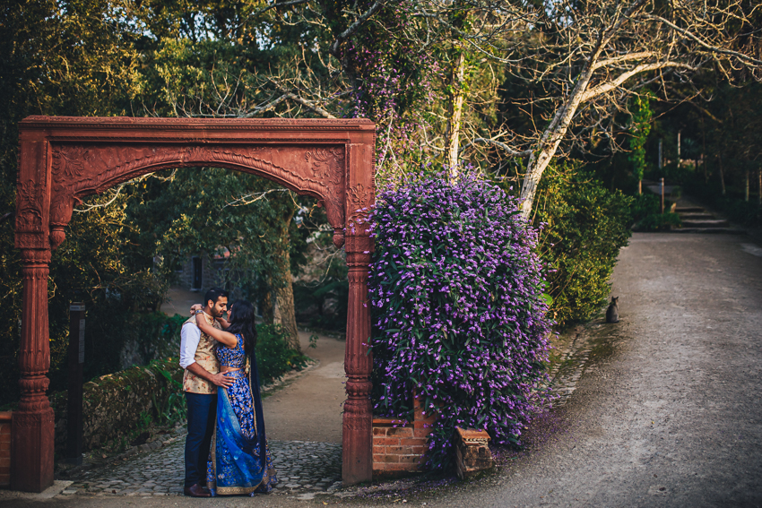 Sheena & Gopal Engagement Session in Monserrate Palace